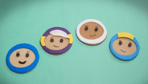 Go Jetters Biscuit Faces