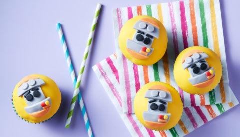 Grimbot Cupcakes