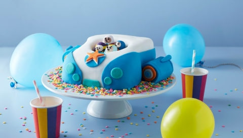 Vroomster Celebration Cake