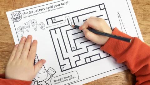 Maze Sheets