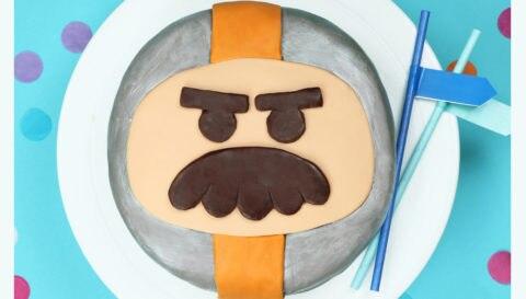 Grandmaster Glitch Cake