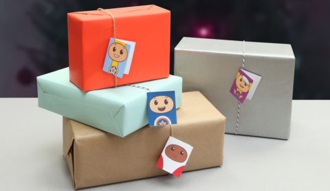 Go Jetters gift tags