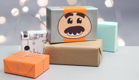 Grandmaster Glitch gift wrap