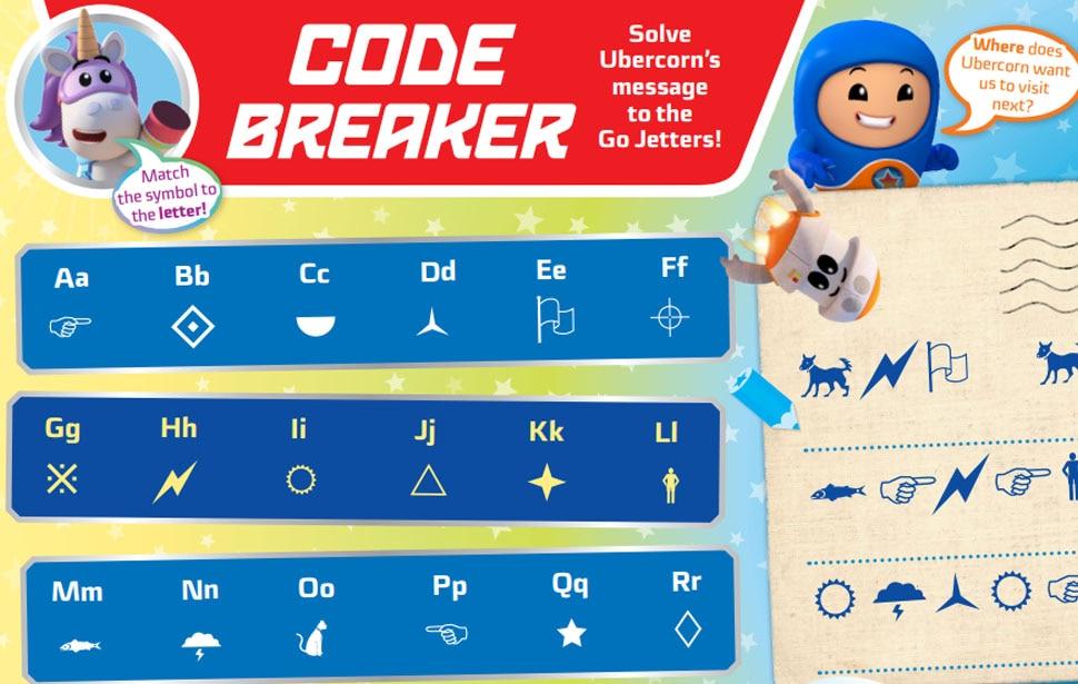 Go Jetters Code Breaker