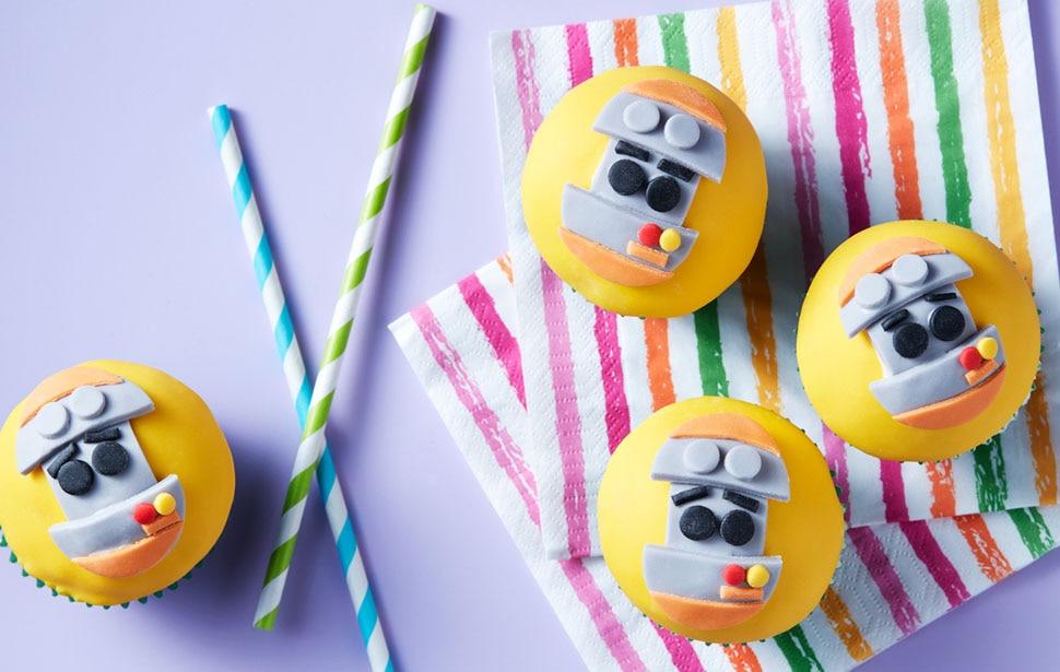 Go Jetters Grimbot Cupcakes