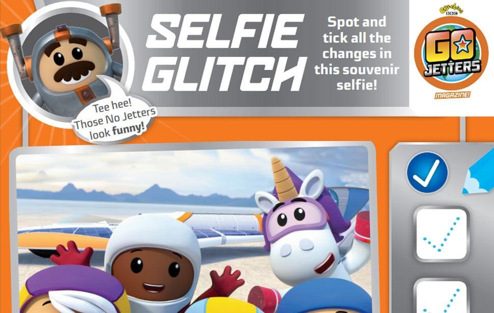 Go Jetters Selfie Glitch