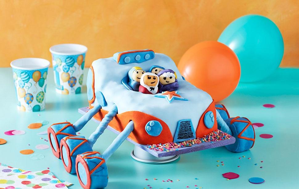 Go Jetters Truckster Cake