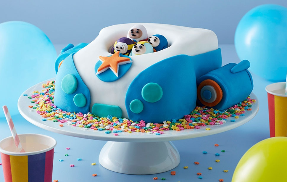 Go Jetters Vroomster cake