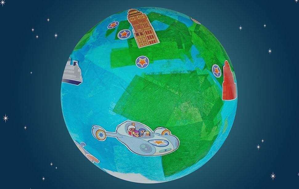 Go Jetters globe